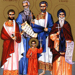 Orthodox Christian Holy Relics of Milan – Saint Ambrose (San Ambrogio) and Early Christian Martyrs Protasius, Gervasius) year 58 – 64 A.D.