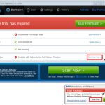 Reverting Malwarebytes from Free Trial Expired to Free Malwarebytes howto